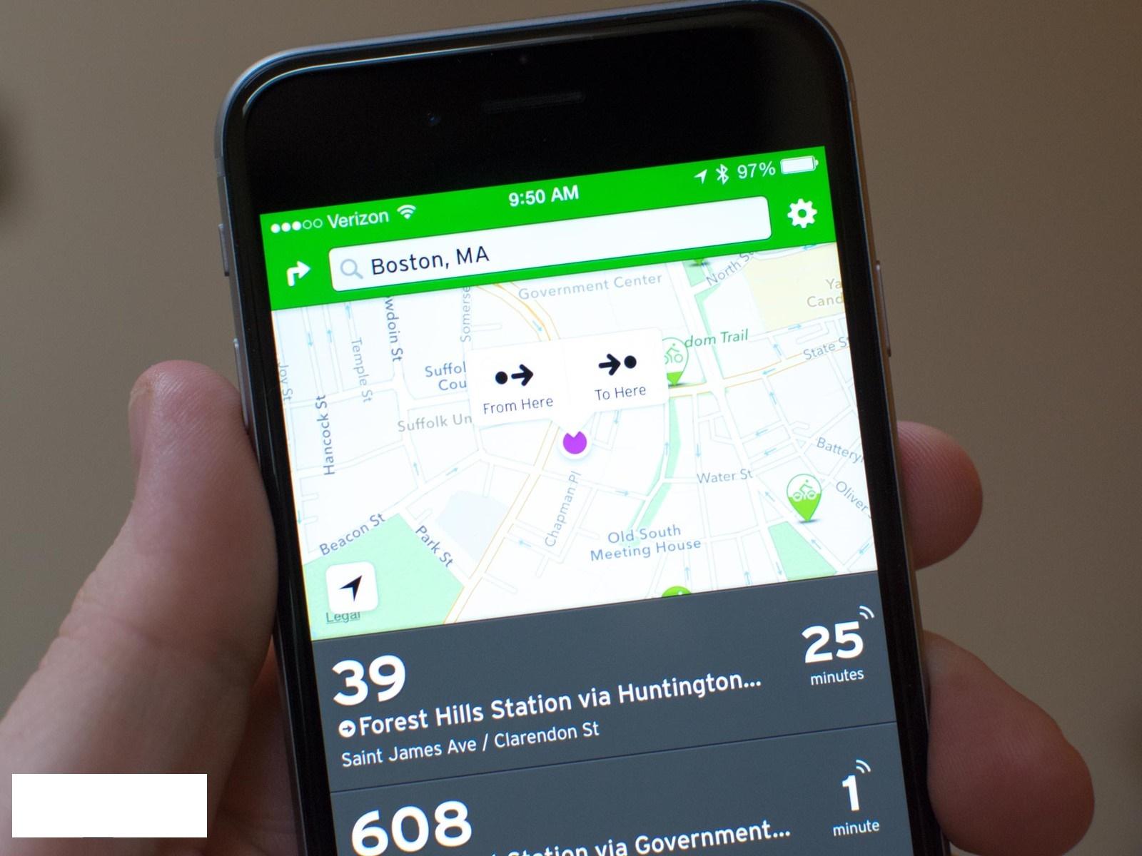 Transit App V3.2 iOS8