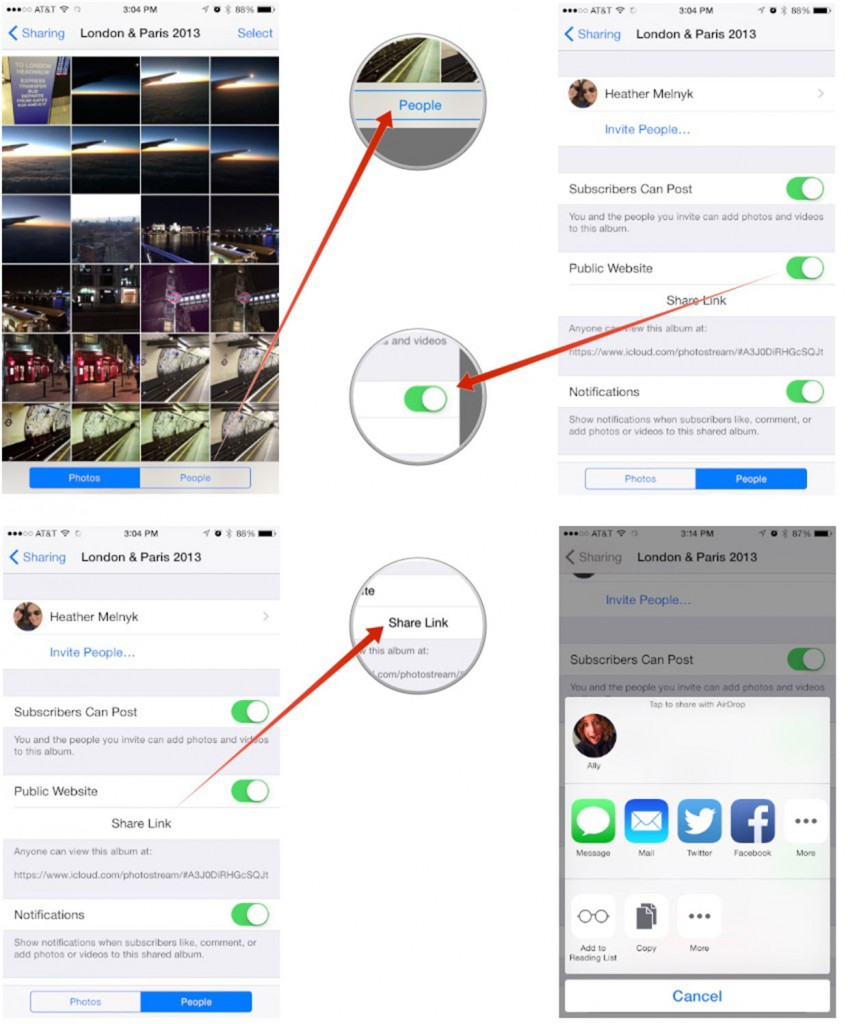 How to share photo Stream to people not using Apple devices