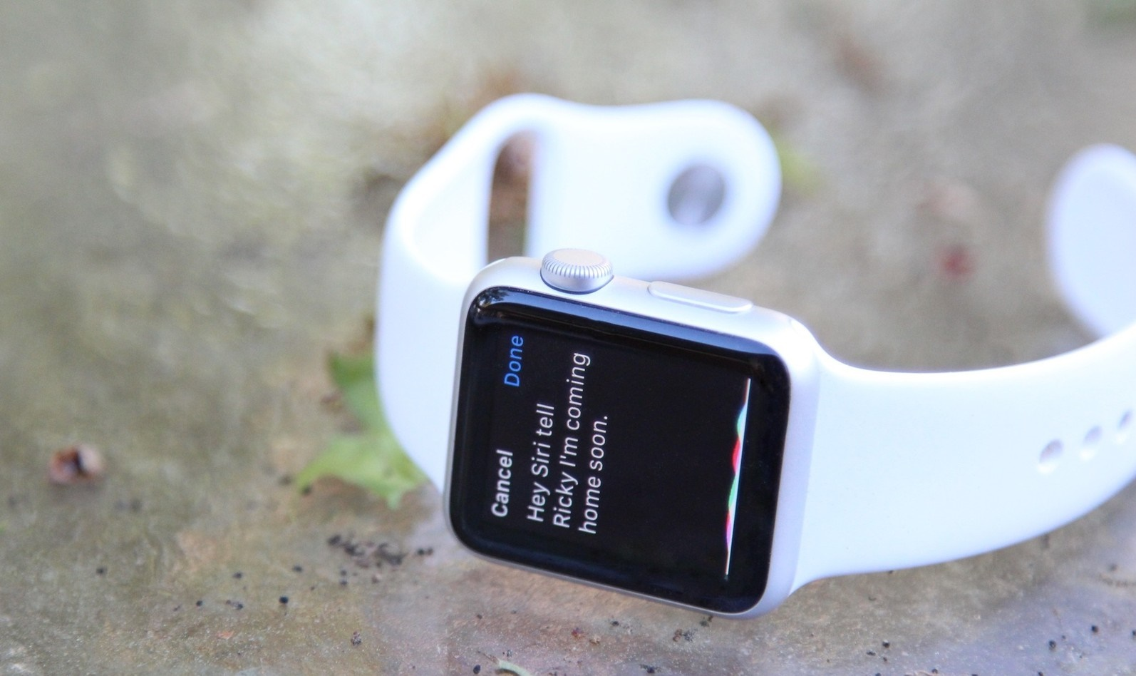 How to send message with Siri on Apple Watch