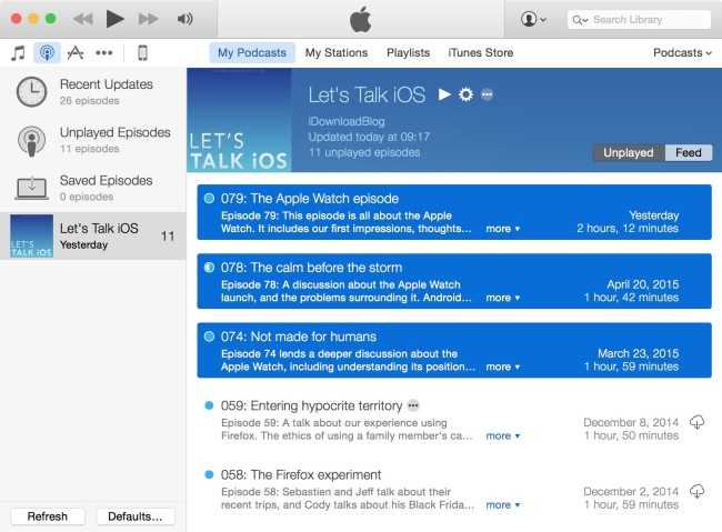 podcasts-on-watch