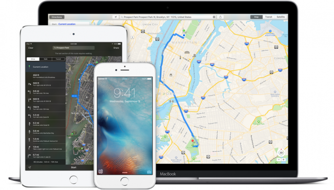 Apple Maps now being used three times more than Google Maps on iPhones