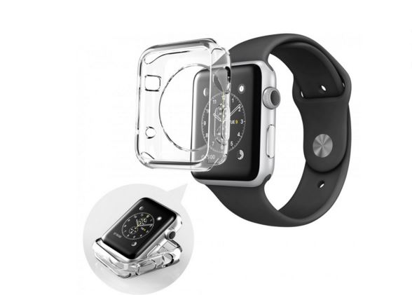 i-Blason's 5 pack TPU Apple Watch 38 mm protective case