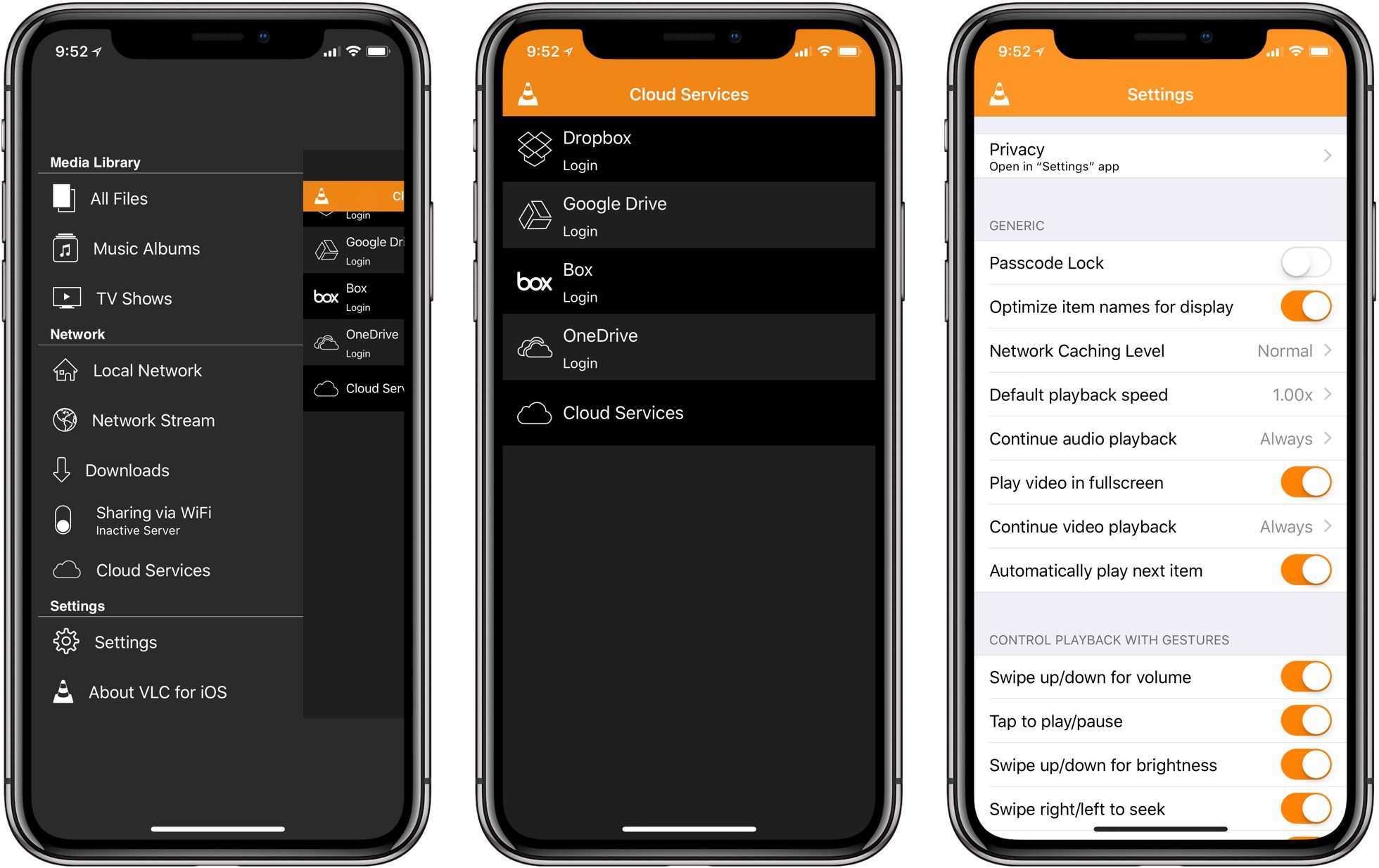 VLC for iPhone X