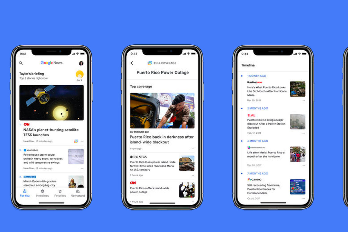 AI-powered Google News debuts on iOS App Store replacing