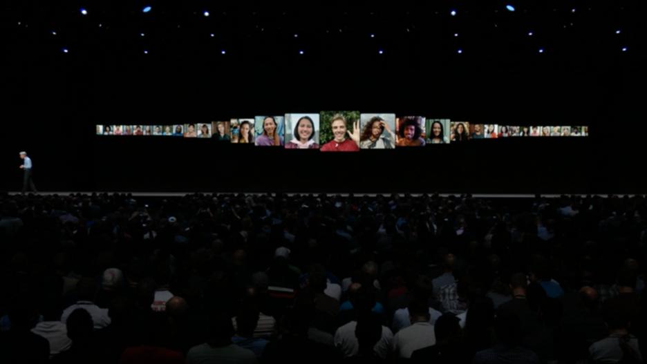 facetime on iOS 12