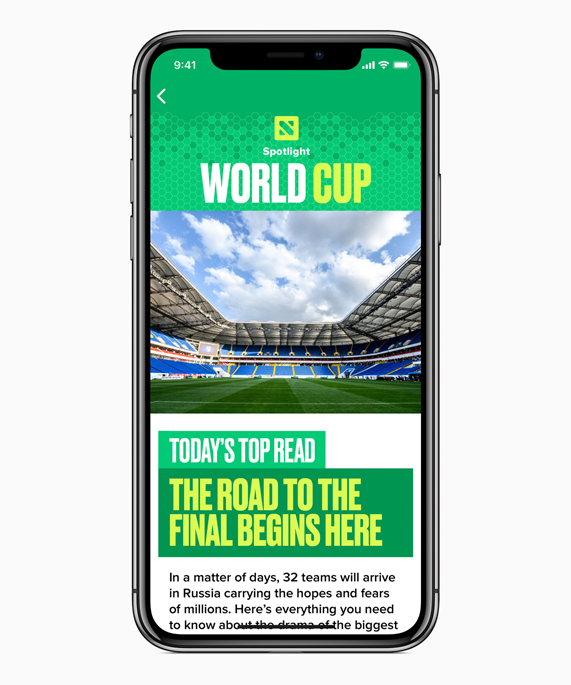 Apple tweaks Siri, App Store for FIFA World Cup 2018 – The